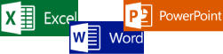 Excel,Word,PowerPoint